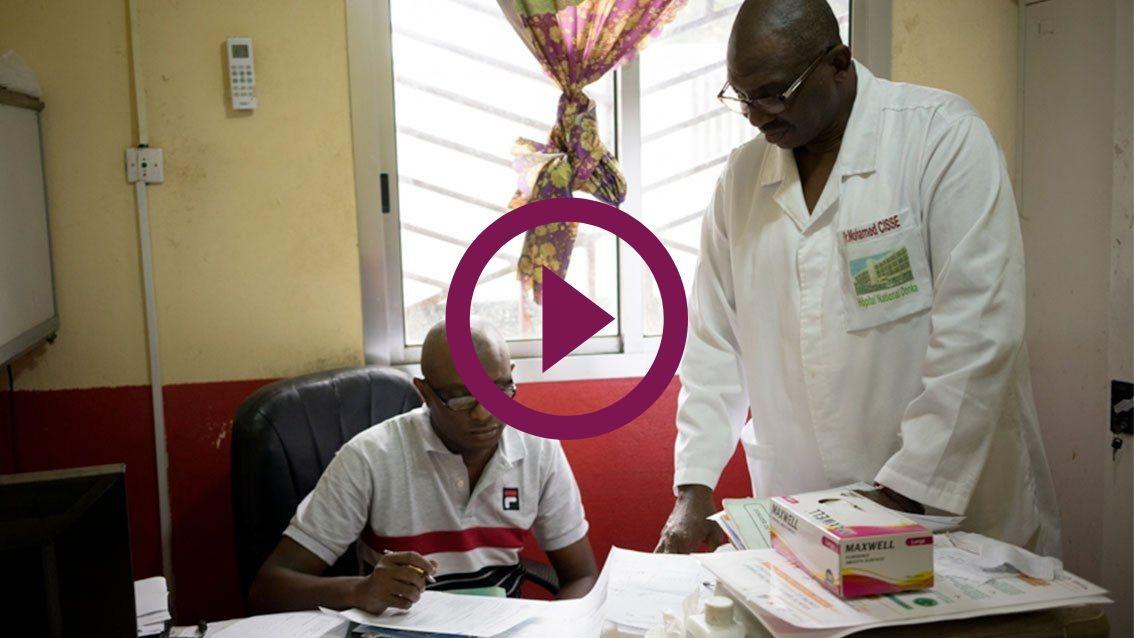 Des cliniciens impliqués