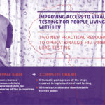2 new practical resources to improve access to viral load testing for people living with HIV
